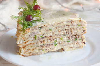 Закусочный торт «Император Наполеон»