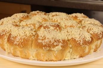 Постный пирог с карамелью и штрейзелем – чудесная выпечка подарит отличное настроение даже в период воздержания от пищи