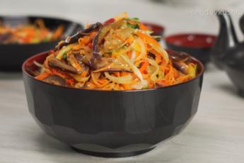 Шикарная закуска по-корейски