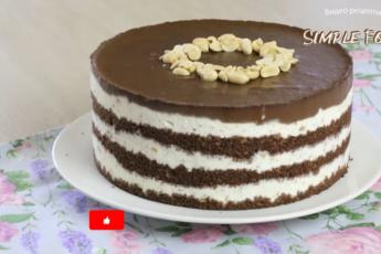 Наслаждение для сладкоежек: торт «Сникерс» без выпечки и абсолютно по-новому