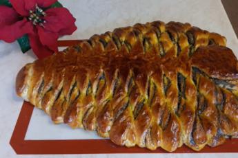 Пирог праздничный с маком