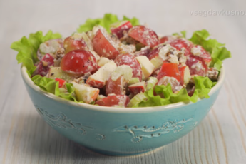 Вальдорфский салат – блюдо с завидной историей. Пусть «легенда» оживет на вашем столе!