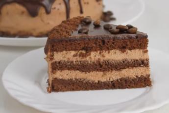 Королевский торт «Кофейный соблазн»