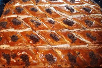Торт с орехами и корицей «Ароматный»