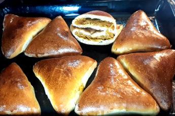 Печеные пирожки с капустой. Рецепт, проверенный временем