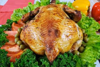 Курица в духовке под ароматным маринадом