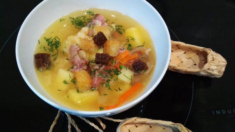 Афганский казан в деле – вкуснейший гороховый суп (на природе или дома)