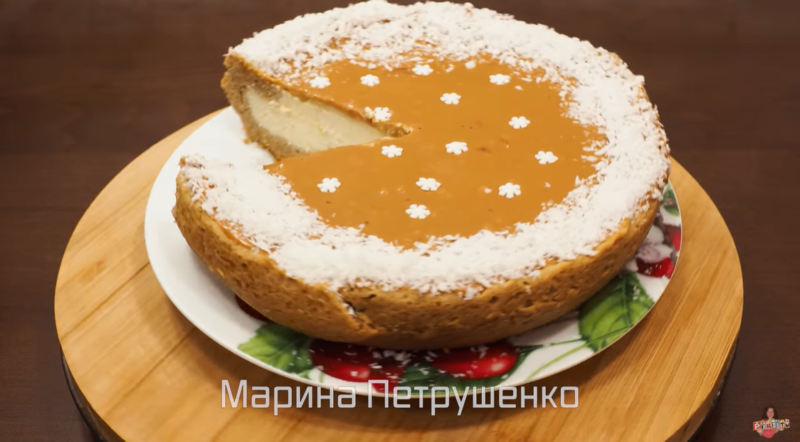 Творожный пирог с кофейным ароматом для приготовления в мультиварке