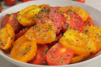ТОП-6 легких овощных закусок