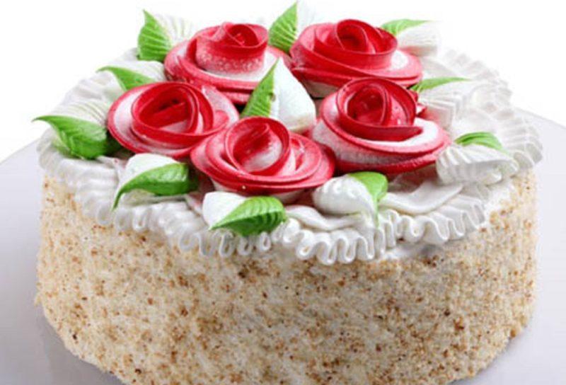 Закусочный торт «Многоэтажка»