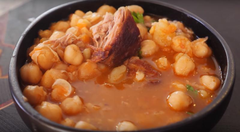 Баранина с турецким горохом - идеальный рецепт для зимы. Когда очень хочется погорячее...
