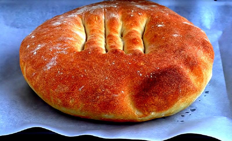 Воздушный дрожжевой хлеб в домашних условиях