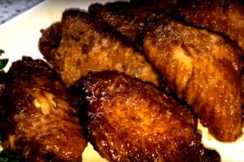 Терияки-крылышки в медленноварке или мультиварке. Очень вкусно, ароматно и нежно