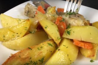 Простое и вкусное горячее блюдо
