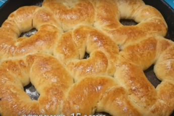 Невероятно воздушные булочки с начинкой