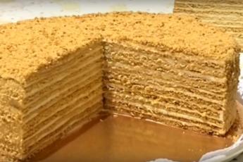 Изумительный торт «Медовик»