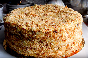 Настоящий торт Наполеон. Рецепт моей прабабушки
