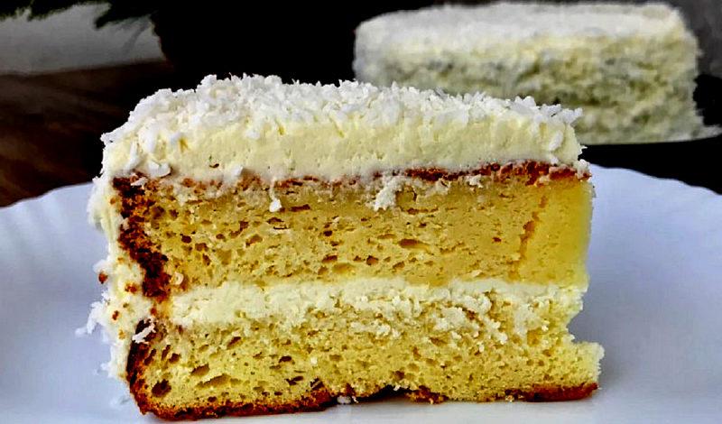Торт «Белая метелица»