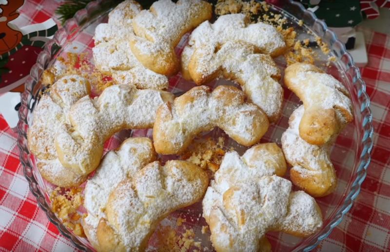Печенье «Оленьи рожки»