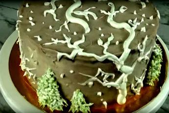 торт «День сменяет ночь»