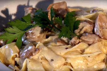 «Тальятелле алла норчина» - дети просто умоляли о добавке! Вкуснейшая итальянская паста с купатами