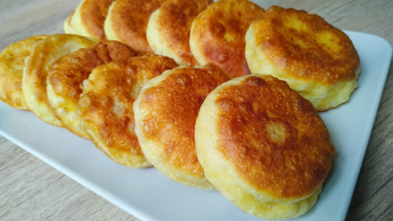Пирожки с интересной начинкой без лепки