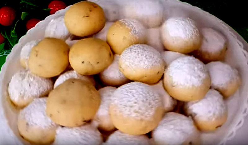 Ореховое печенье к чаю «Для любимых»