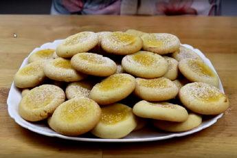 """Лимонные """"Глазки"""" - мое любимое печенье. Рассыпчатое, ароматное, очень вкусное"""