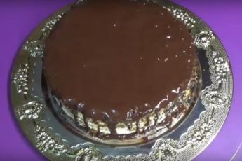 Сливочно-шоколадный торт «Крошка»