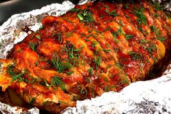 """Главное горячее блюдо на праздничный стол - мясо """"Книжка"""""""