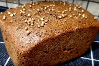 Ленивый бородинский хлеб в домашних условиях. Быстро и просто, а на вкус не отличить от настоящего!