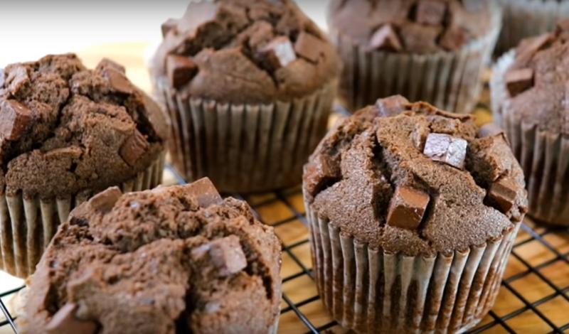 Как приготовить вкусные шоколадные маффины - очень легкий рецепт