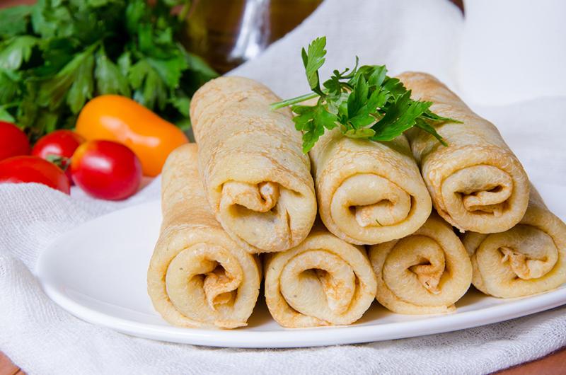 Рецепт блинов на майонезе