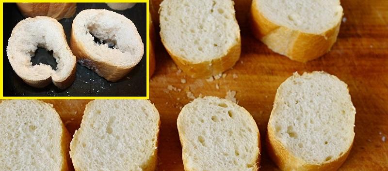Чудо-пеньки из багета стали самой желанной закуской на столе и самым быстрым блюдом в меню. Могут заменить всё, кроме полноценного обеда