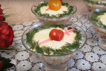"""""""Фантастическая четверка» с языком. Этот салат высматривают еще из прихожей, есть ли он на столе"""