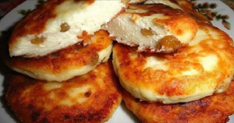 Быстрый и очень вкусный рецепт сырников