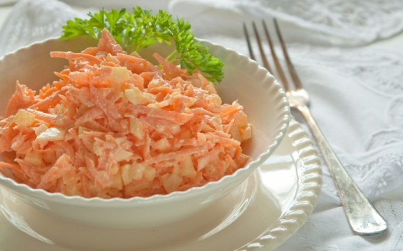 Спасибо, мама, что приучила каждый вечер есть этот салат!