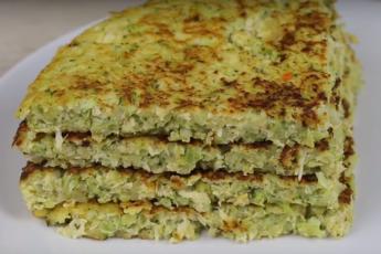 Брокколи на сковороде - фантастический зеленый завтрак, очень сытно!