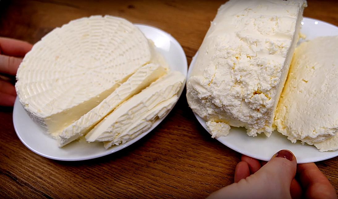 Домашний сыр - эксперимент из домашнего и магазинного молока. Просто смешала его с кефиром и нагрела