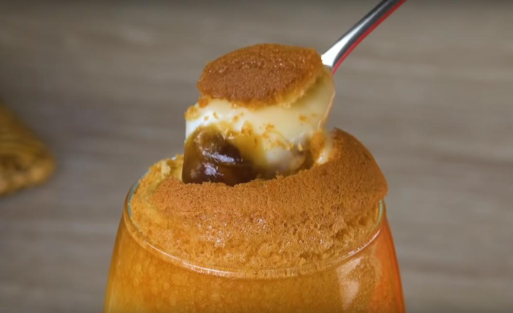 Вот, как готовится настоящий японский десерт: чудо из духовки меньше чем, через 50 минут