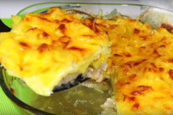 Королевский ужин с ананасами - без возни, у плиты стоять не надо!
